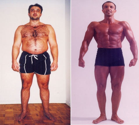 "Борис - свалил 40 кг и спечелил конкурса ""Body for life"""