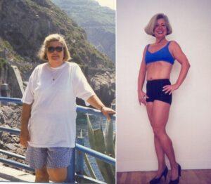 Кристина - свалила 35 кг.